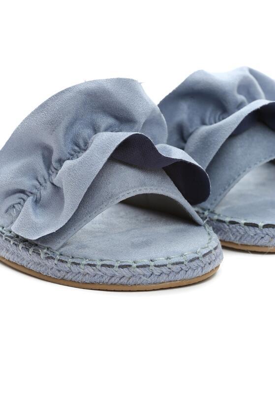 Niebieskie Klapki Avalanche