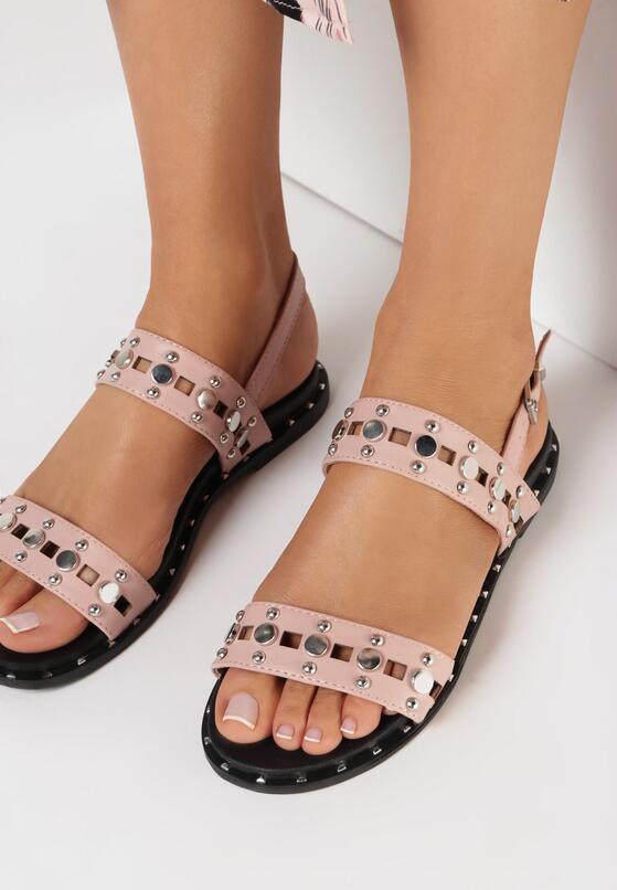 Różowe Sandały Livid