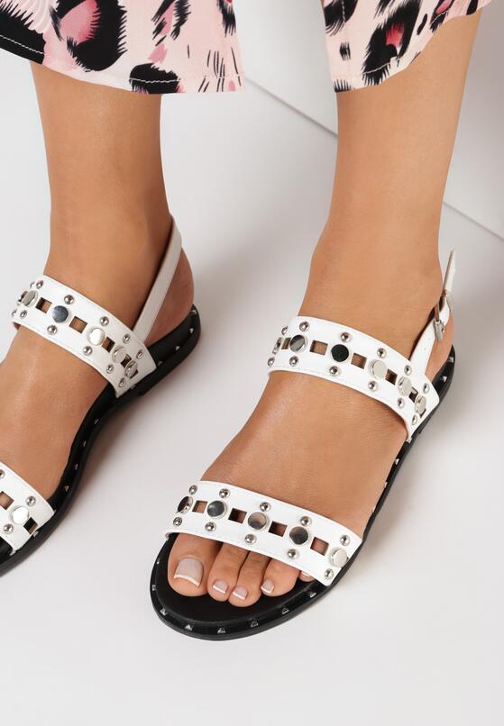Białe Sandały Livid