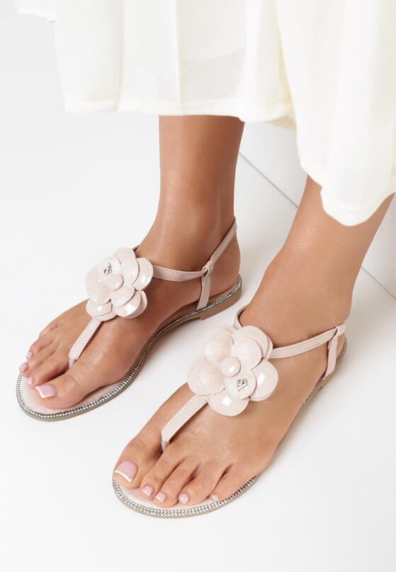 Różowe Sandały Lemon Tart