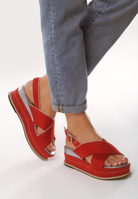 Czerwone Sandały Halfway To Paradise