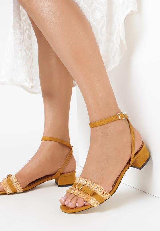 Żółte Sandały Prejudiced