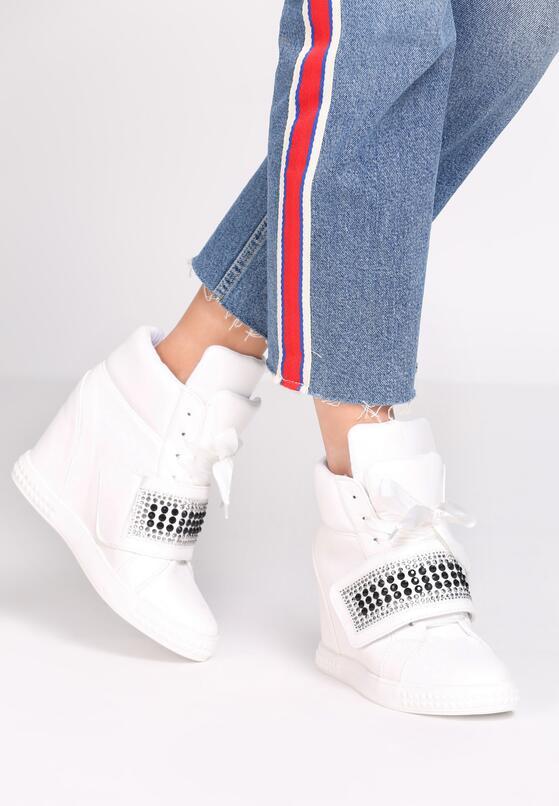 Białe Sneakersy Stop Me Now