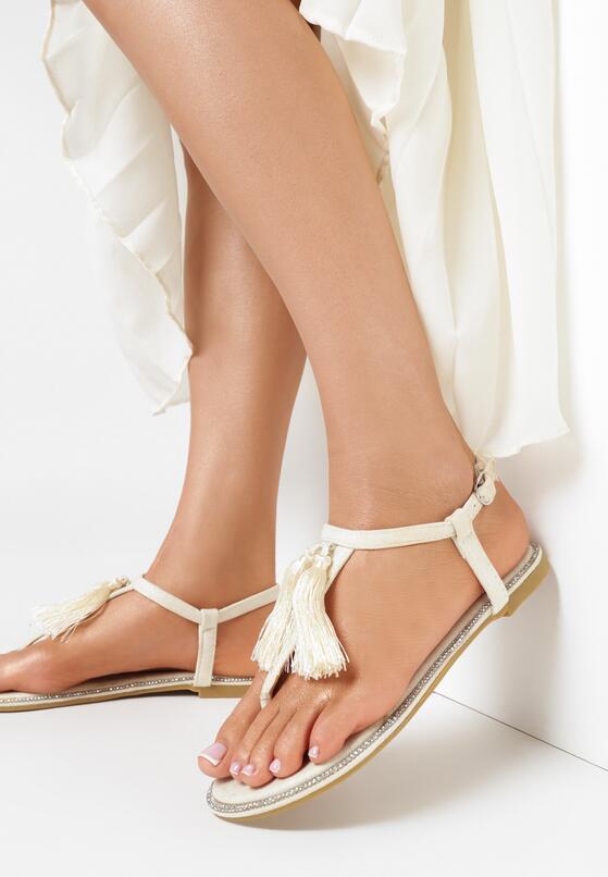 Beżowe Sandały My Romance