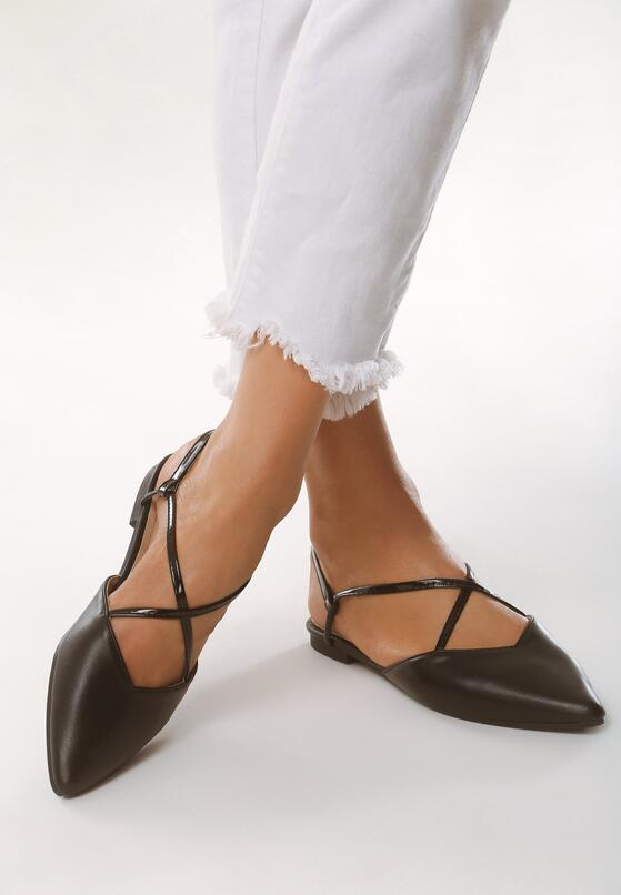 Czarne Sandały First Ideas
