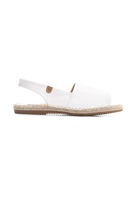 Białe Espadryle Morning Liight