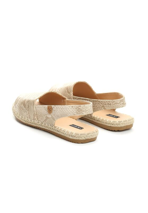 Beżowe Espadryle Morning Liight