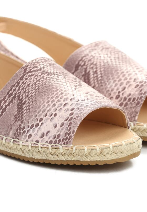 Różowe Espadryle Morning Liight
