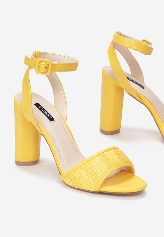 Żółte Sandały Third Party