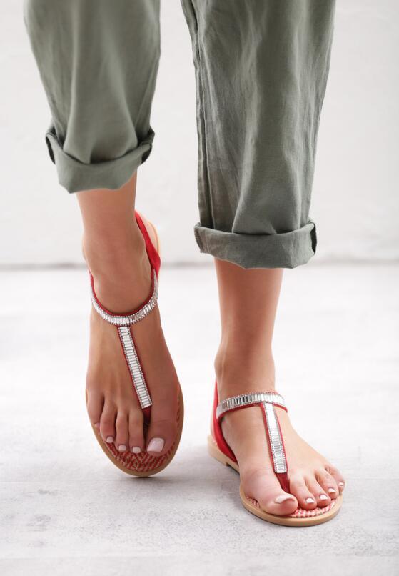 Czerwone Sandały Try Tonight