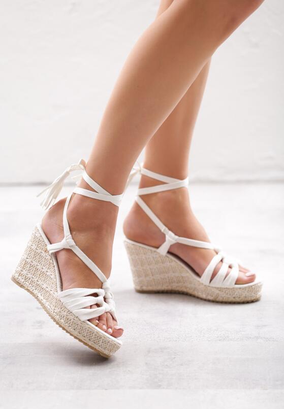 Białe Sandały Tangelo