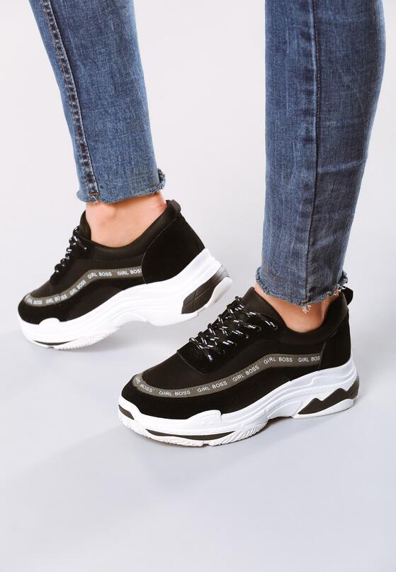 Czarne Sneakersy My Manifesto