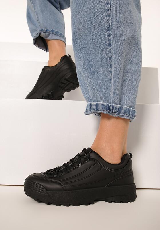 Czarne Sneakersy Waves All Night