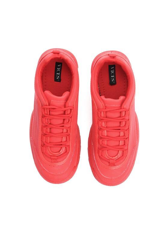 Czerwone Sneakersy Waves All Night
