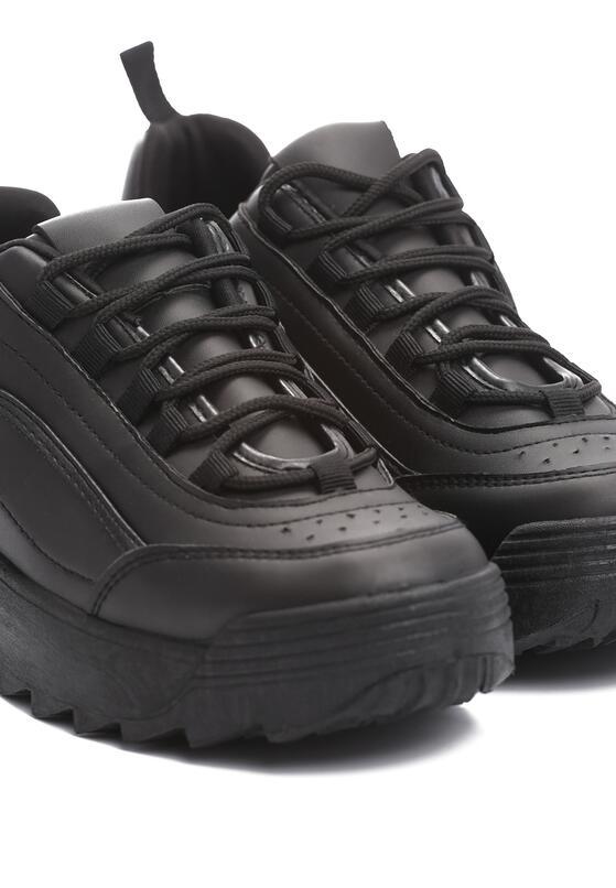 Czarne Sneakersy The First Marathon