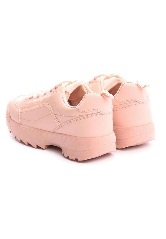 Różowe Sneakersy The First Marathon