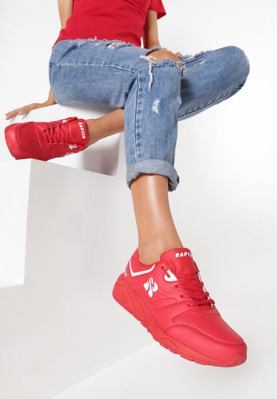 Czerwone Buty Sportowe Messing Around