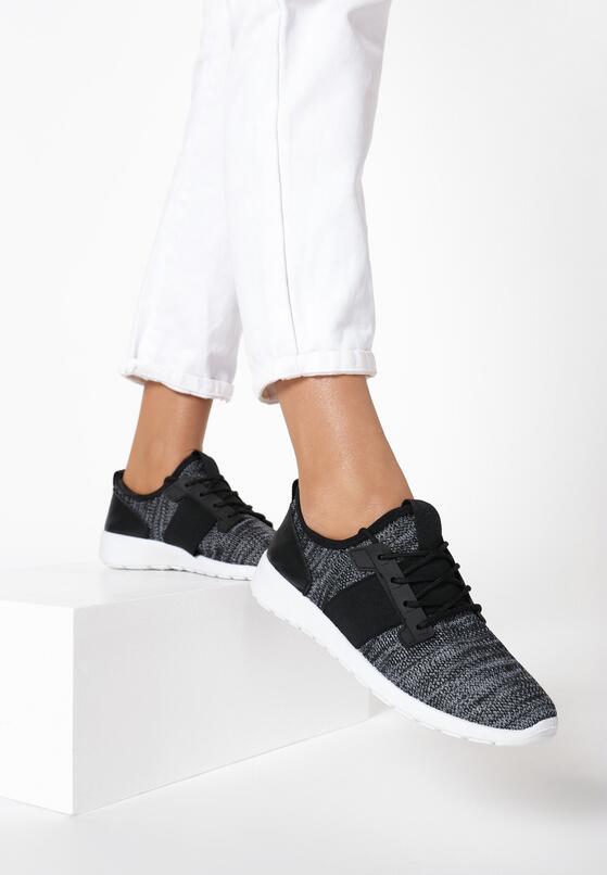 Czarne Buty Sportowe Ligation