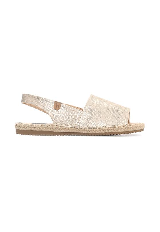 Złote Espadryle Morning Liight