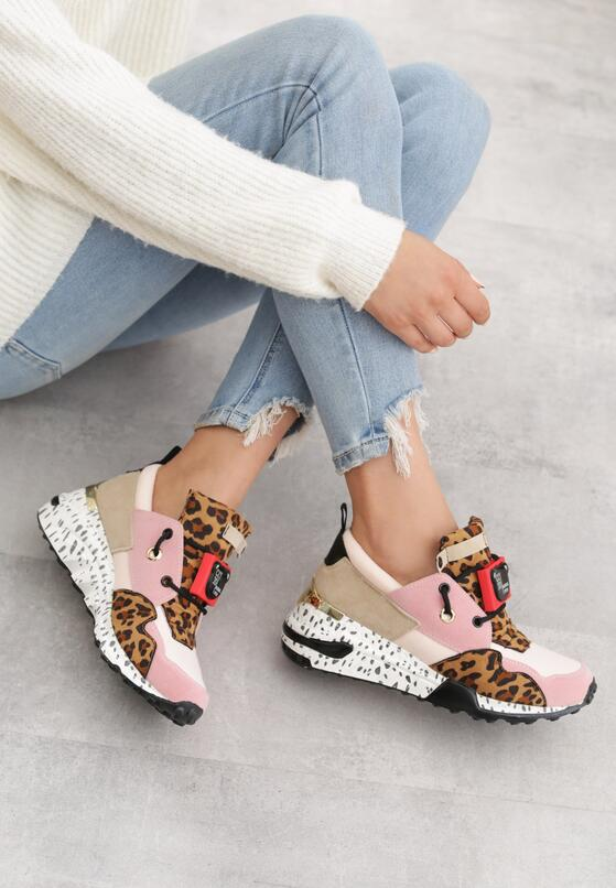 Różowe Sneakersy Termed