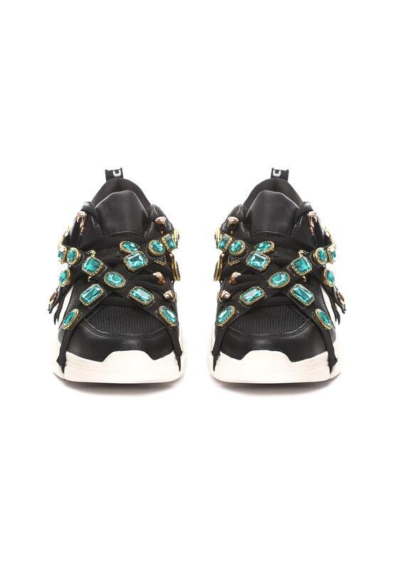 Czarne Sneakersy Designate
