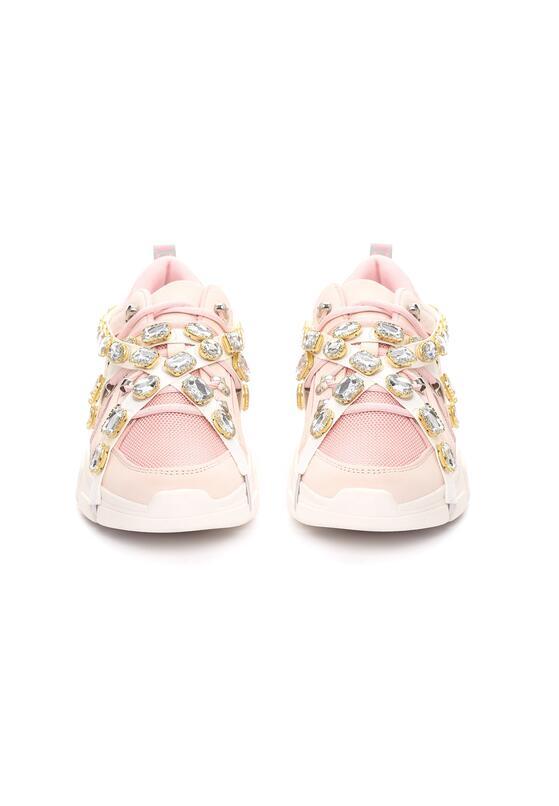 Różowe Sneakersy Designate