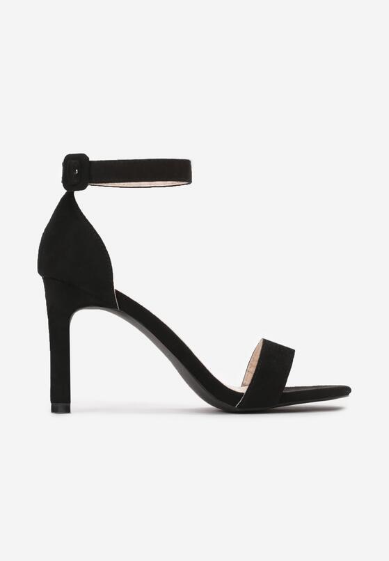 Czarne Sandały Somnolent