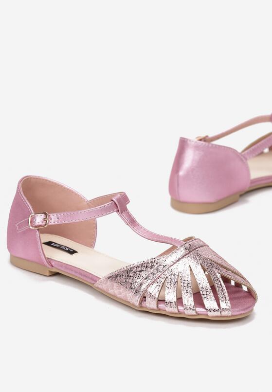 Różowe Sandały Another Dimension