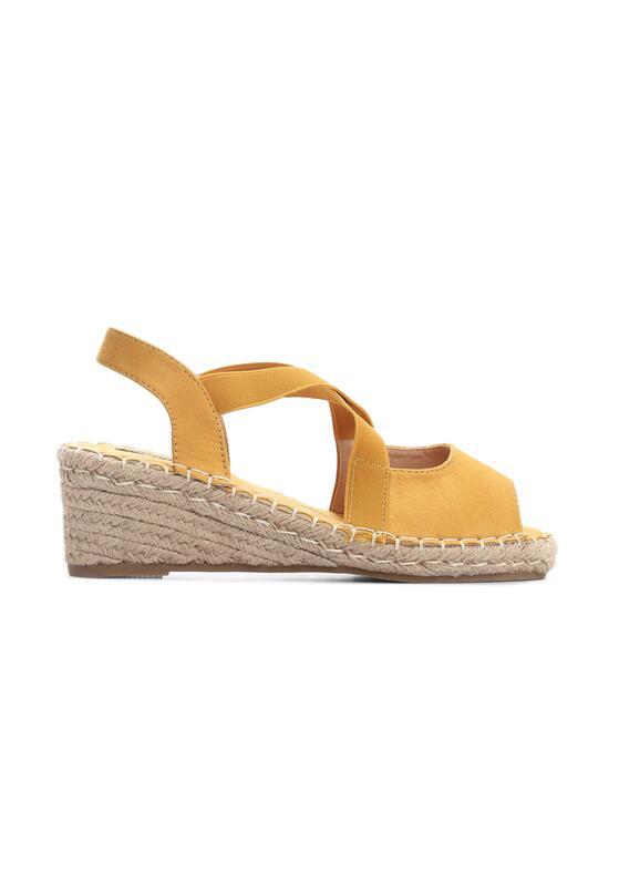 Żółte Sandały Rainboot