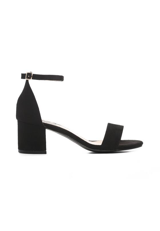 Czarne Sandały Snickering