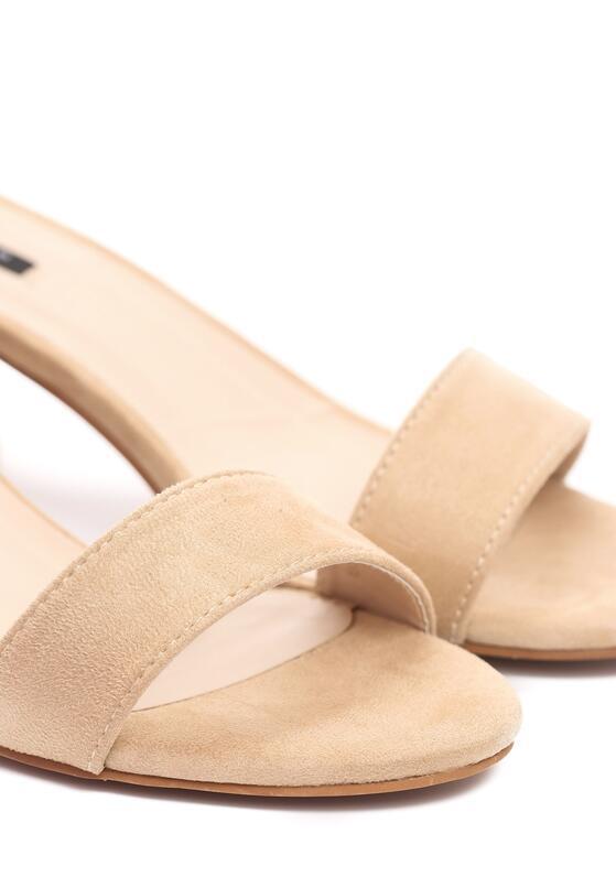 Beżowe Sandały Snickering