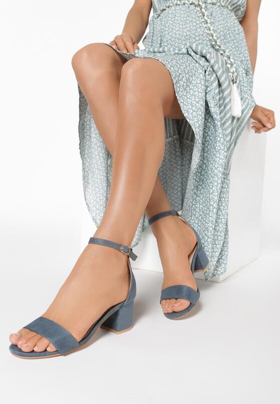 Niebieskie Sandały Snickering