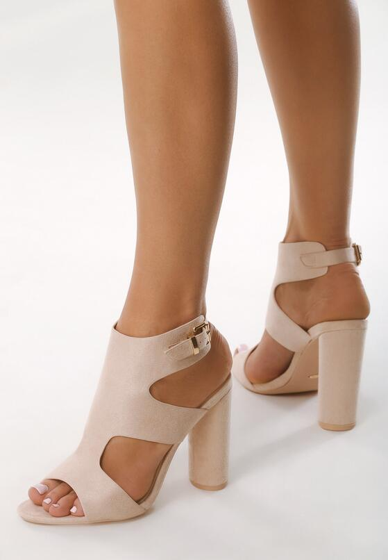 Różowe Sandały You Are Everythiing