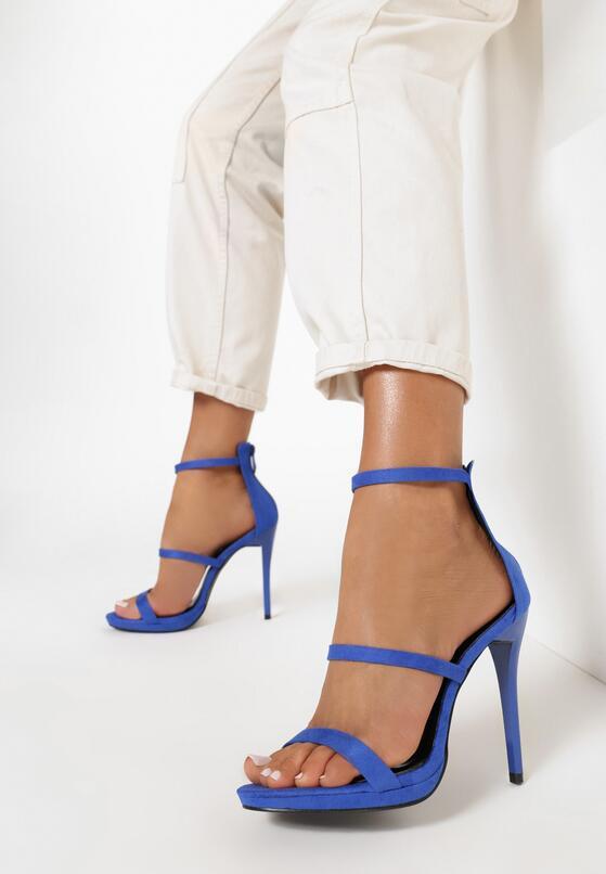 Niebieskie Sandały Carnivals Kisses