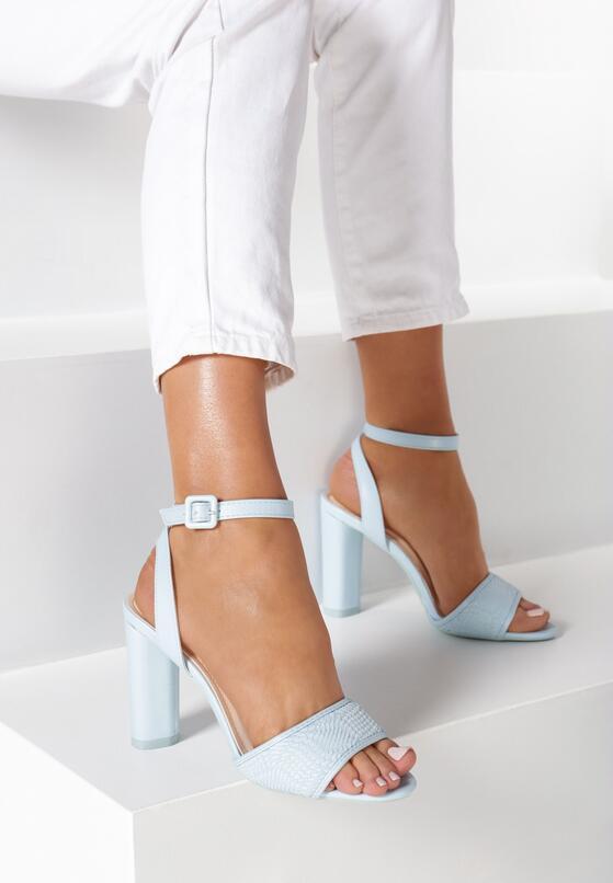 Niebieskie Sandały Bones