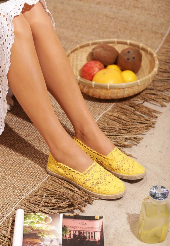 Żółte Espadryle Satisfyingly