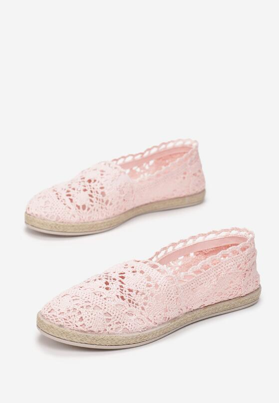 Różowe Espadryle Satisfyingly