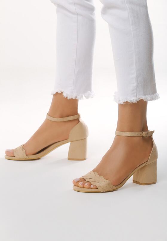 Beżowe Sandały Byplay