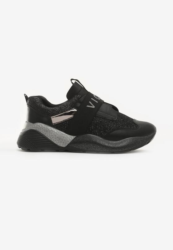 Czarne Sneakersy Unflinchingly