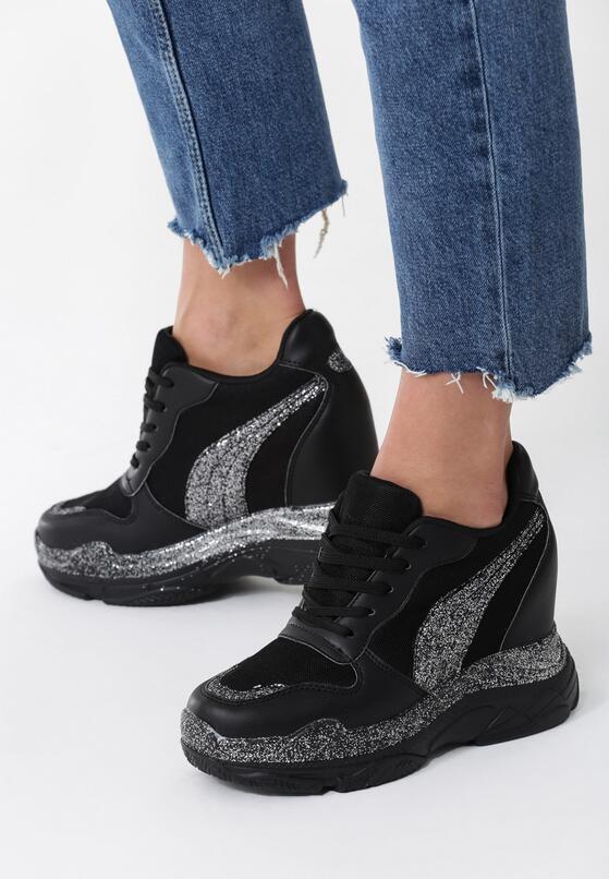 Czarne Sneakersy Observable