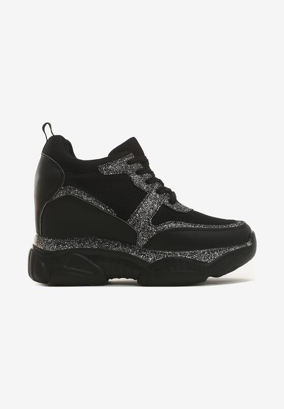 Czarne Sneakersy Harbor
