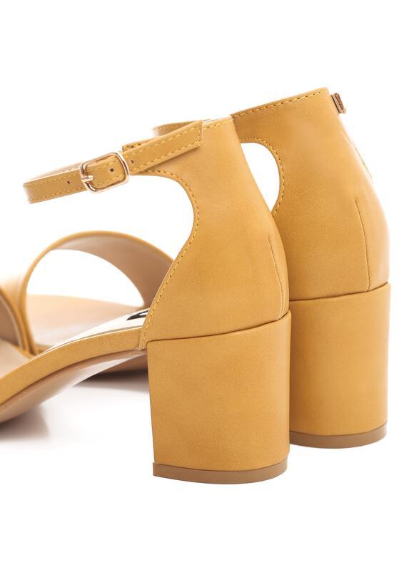 Żółte Sandały Cabaret
