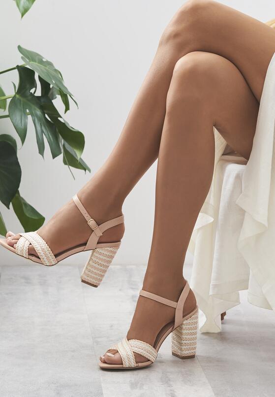 Różowe Sandały Go Getter