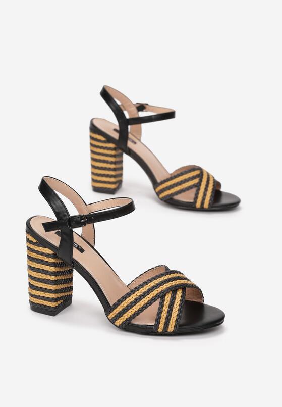 Czarne Sandały Go Getter