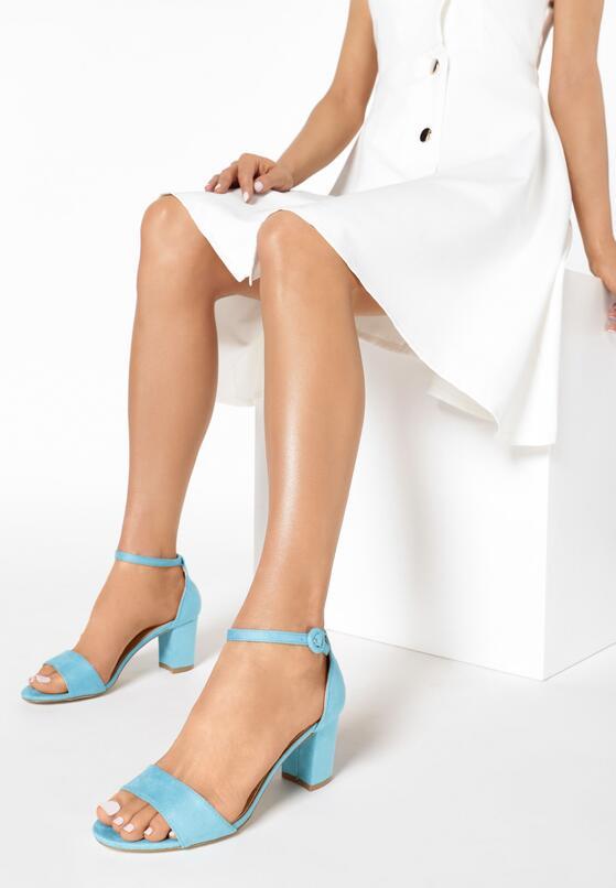 Niebieskie Sandały Quicktempered