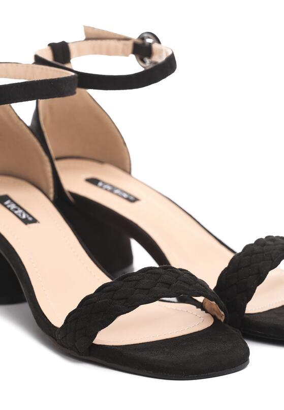 Czarne Sandały Undisguised