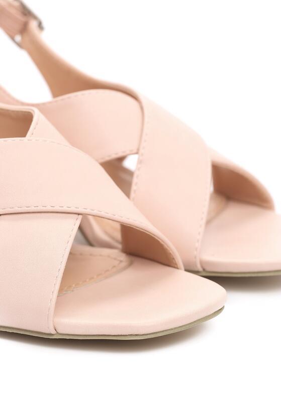 Różowe Sandały Self-Destructive