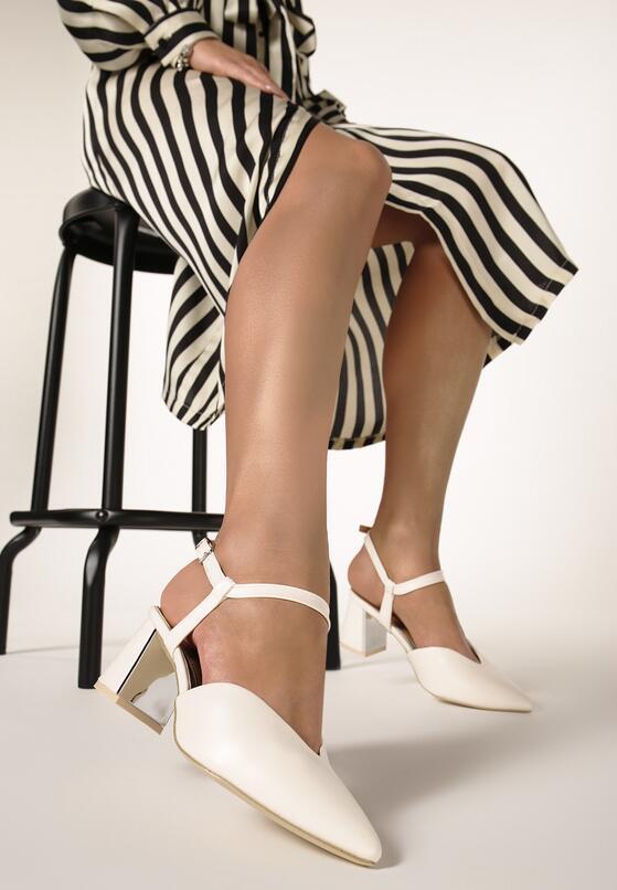 Białe Sandały Upfront