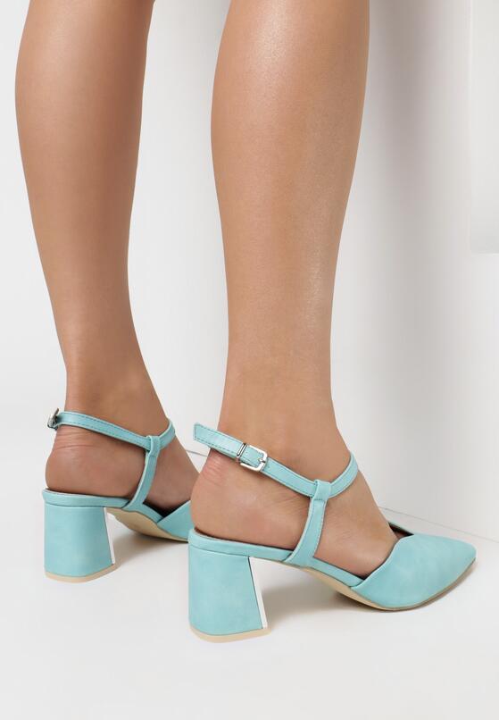 Niebieskie Sandały Upfront