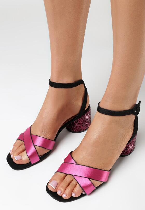 Fuksjowe Sandały Incontestable